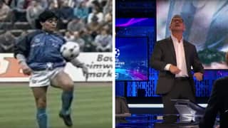 Gary Lineker's Touching Warm-Up Tribute To Diego Maradona Proves Just How Good He Really Was