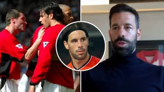 Ruud Van Nistelrooy Reveals Roy Keane's Priceless Reaction To Him Wearing A Headband