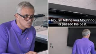 Jose Mourinho Turning TV Off After Hearing Criticism Is The Funniest Moment Of Spurs' New Amazon Documentary