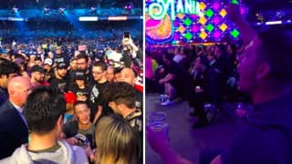 John Cena Is At Wrestlemania As A Fan And It's Brilliant