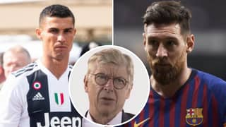 Arsene Wenger Gives Perfect Response On Who Is Better Out Of Cristiano Ronaldo And Lionel Messi