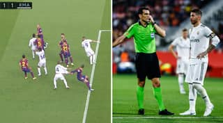 Barcelona Complain To Spanish FA About Referee With Real Madrid Upbringing