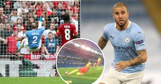 Kyle Walker Compilation Shows He's The Best In The World At Goal Line Clearances