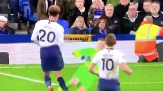 Jordan Pickford's Tackle On Dele Alli Resurfaces After He Injured Virgil van Dijk In Merseyside Derby