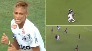 Neymar's Highlights At Santos Show He's The Most Skilful Player In World Football