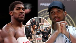 Anthony Joshua Reveals That He Will NOT Take The Knee Ahead Of Kubrat Pulev Fight