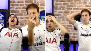 Tottenham Fans Have Live Stream Celebrations Cut Short By Manuel Lanzini Wonder Goal