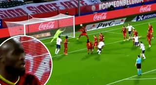 Romelu Lukaku Produced An Incredible Goal Line Clearance For Belgium Vs England