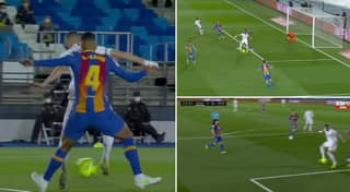 Karim Benzema Has Just Scored The Most Audacious Backheel You'll Ever See In El Clasico
