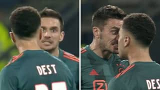 Dusan Tadic Absolutely Loses His Head And Squares Up To Teammate Sergino Dest