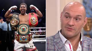 Tyson Fury Takes Swipe At Anthony Joshua And Says He's Not The Real Champion