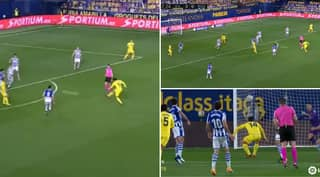 Villarreal Midfielder Dani Parejo Scores An Unstoppable 30-Yard Rocket Of A Goal Against Real Sociedad