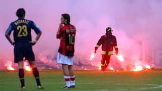 Throwback To One Of The Most Iconic Moments In Milan Derby History
