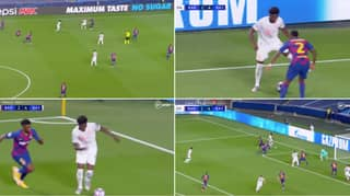 Alphonso Davies Destroys Barcelona's Defence For Bayern Munich's Fifth Goal
