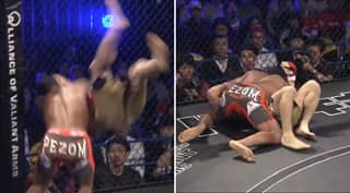 Remember The Time An MMA Fighter KO'd His Opponent With A Rock Bottom?
