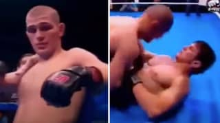 Rare Footage Emerges Showing Khabib Nurmagomedov Using Vicious Headbutts When It Was Legal In Russia