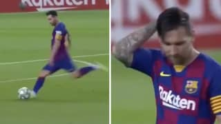 New Camera Angle Shows A 'Fed Up' Lionel Messi Expressing His Frustration After Scoring Free-Kick vs Osasuna