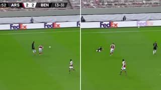 """Kieran Tierney Shouted """"You're A F**king Diving C**t, Man"""" At Benfica Player"""