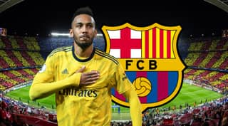 Barcelona Want To Sign Pierre-Emerick Aubameyang On Loan From Arsenal