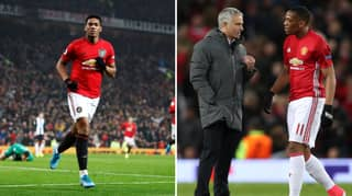 Anthony Martial Hits Out At Jose Mourinho Criticism During Time At Manchester United