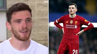 Andy Robertson Backs Marcus Rashford To Be The First Manchester United Player To Get Standing Ovation At Anfield