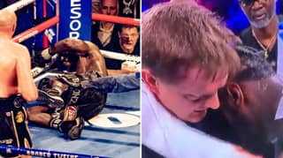Footage Of Deontay Wilder Proves Cornerman Was Right To Throw In The Towel
