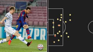 Lionel Messi Has Now Gone 40 Shots From Open Play Without Scoring