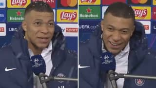 Kylian Mbappe Blows Fans Away With His 'Unreal Perfect English' While Casually Doing Interview In Snow