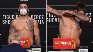 Mike Perry Dabs After Badly Missing Weight For UFC 255 Fight Against Tim Means