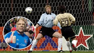 Oliver Kahn Played Against Nine-Year-Olds In A Charity Shootout And Saved Every Penalty