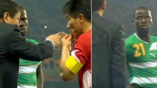 When Emmanuel Eboué Pretended To Understand North Korea's Tactics During World Cup Game