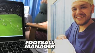Man Plays 18 Hours Of Football Manager While His Fiancé Is In Labour