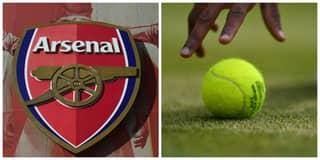 Arsenal Star Pops Up As Ballboy At Wimbledon
