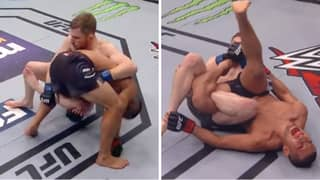 MMA Fighter Makes Opponent Tap With Extremely Rare Submission: The Calf Slicer
