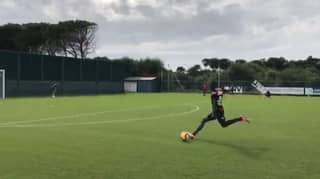 Manchester United Target Kalidou Koulibaly Scores Outrageous Goal In Training