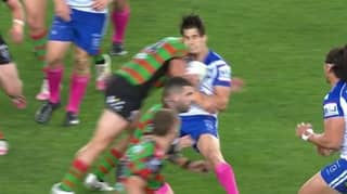 NRL Fans Divided As Huge Hit Sees South Sydney Star Sin Binned
