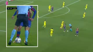 Philippe Coutinho Cheekily Nutmegged The Referee Last Night
