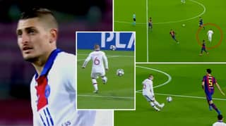 Marco Verratti Dropped A Masterclass Against Barcelona And His Individual Highlights Are Something Else