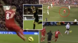 Compilation Of Steven Gerrard's Underrated 'Pure Passing' Proves He Was On Paul Scholes' Level