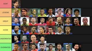 Football Players And Legends Ranked From 'GOAT' To 'Overrated'