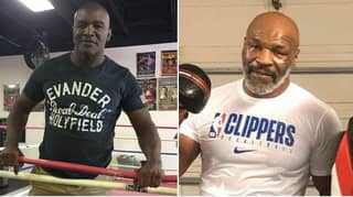 Evander Holyfield Confirms Talks Are Underway To Fight Mike Tyson