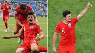 Harry Maguire Says His Dad Is To Blame For His 'Slab Head'