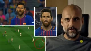 Fascinating Pep Guardiola Analysis Explains Why Lionel Messi Walks At The Beginning Of Every Game