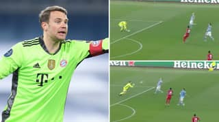 Manuel Neuer's 'One Touch' Throw Pass Is The Most Manuel Neuer Thing Ever
