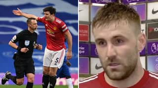 Harry Maguire Tells Manchester United Officials That Luke Shaw Misheard His Conversation With Stuart Attwell