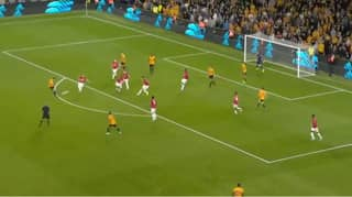 Ruben Neves Scores An Absolute Screamer Against Manchester United