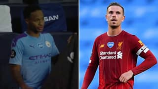 Raheem Sterling Showed A Touch Of Class In Exchange With Jordan Henderson Following Man City Vs Liverpool