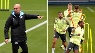 Pep Guardiola Breaks Training Ground Tradition To Prepare His Team For Leeds United Fixture