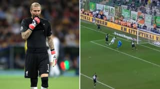 Loris Karius Makes A Big Mistake On Besiktas Debut