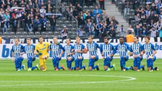 Hertha Berlin Became First European Sports Team To 'Take A Knee'